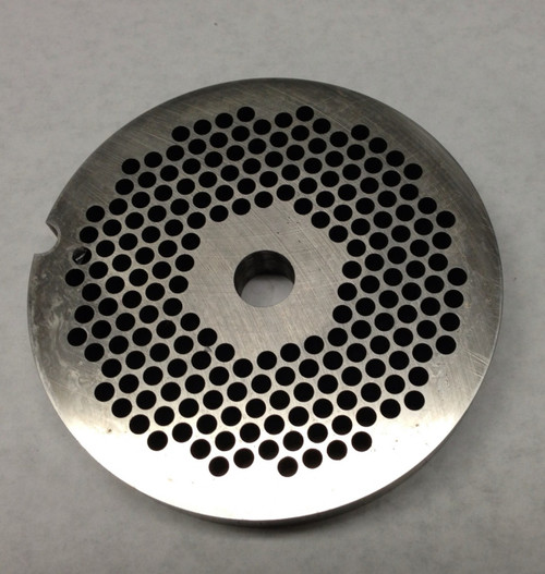 #56 Meat Grinder Plate with 1/4'' Holes