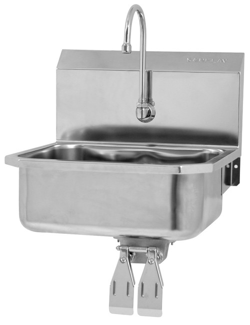 SANI-LAV 505L Hands Free Sink - Stainless Steel - Wall Mount