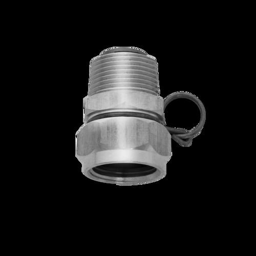 SANI LAV - Swivel Hose Adapter Stainless Steel - N17S