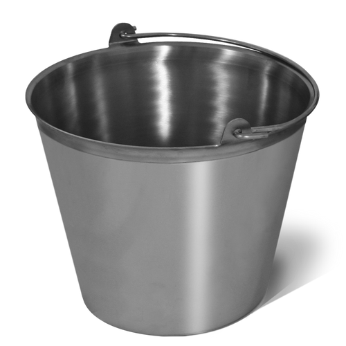 SANI LAV - 13Qt Stainless Steel Pail - USDA and FDA Approved