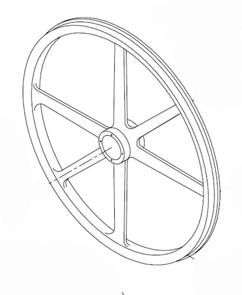 "Butcher Boy SA30 - Upper Wheel ""ONLY"" - 30012"