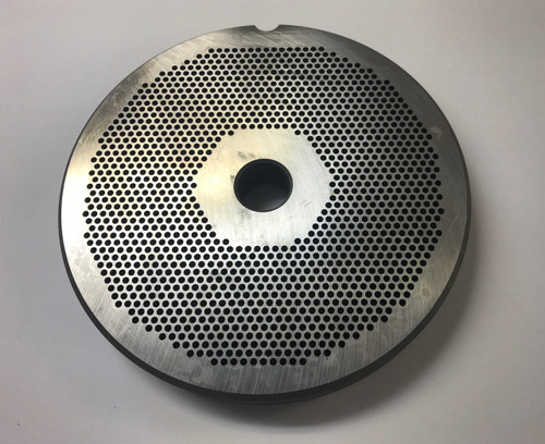 """#56 Meat Grinder Plate with 3/32'' Holes - """"Reversible Plate"""""""