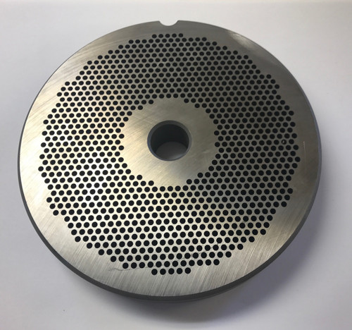 """#56 Meat Grinder Plate with 7/64'' Holes - """"Reversible Plate"""""""
