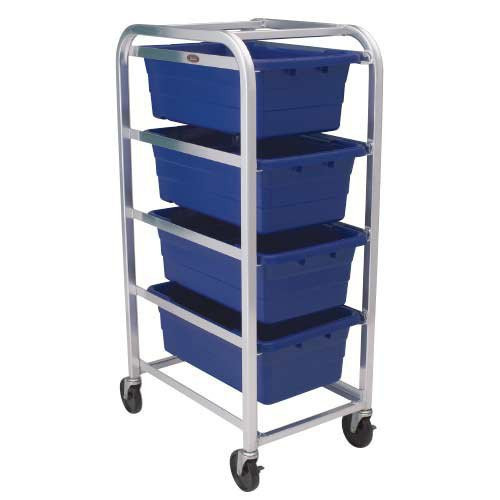 4 Tier - Four Tote -- Standard-Duty Aluminum Dolly