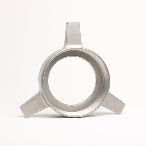 "Talsa W-525 - W114 - S/S Triangular Nut ""Ring"" - 7306"