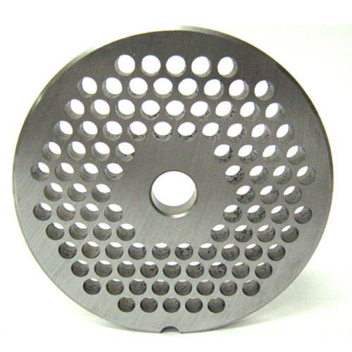 #22 Meat Grinder Plate with 3/16'' Holes