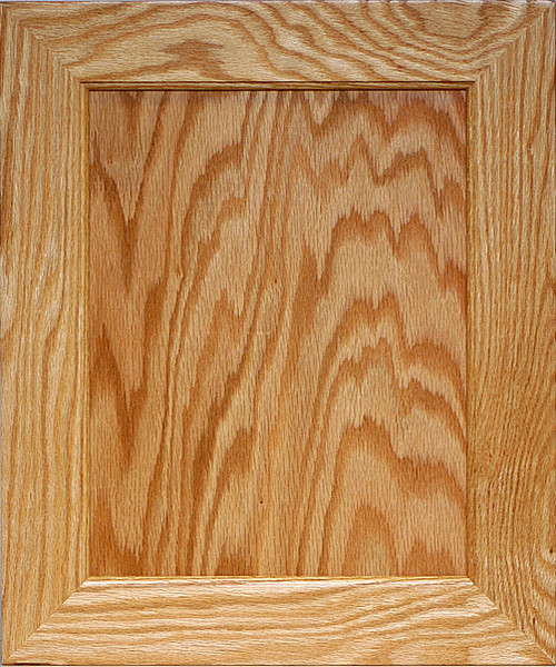 Flat Panel Mitered Door Plywood Center