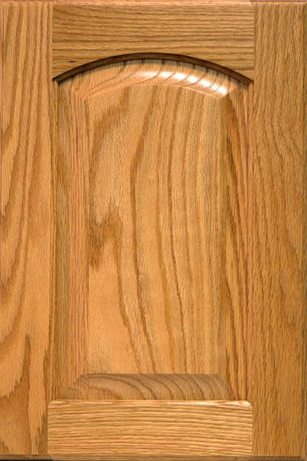 Raised Panel Eyebrow Door