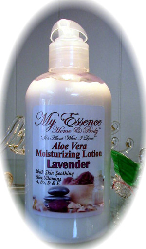 Aloe Vera Based Lotion-2,4,8 oz