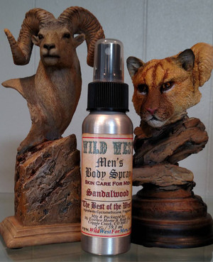 Wild West Men's Body Spray