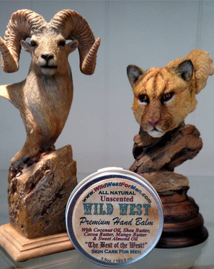 Wild West All Natural Premium Hand Balm