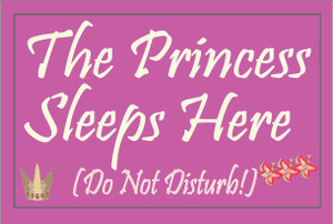 The Princess Sleeps Here... #36