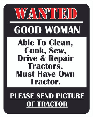 WANTED-GOOD WOMAN... # 86