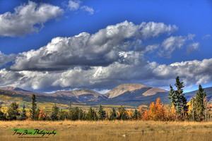 Autumn In the Rockies - A Tony Baca Original Photo -- Free Shipping!