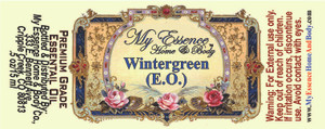 Pure Wintergreen Essential Oil