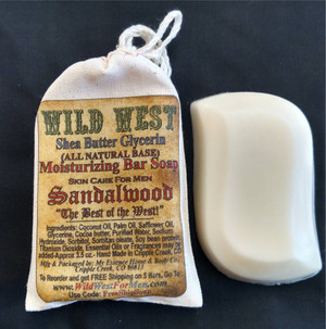 (3) Wild West All Natural Moisturizing Glycerin Bar Soaps