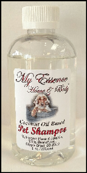 Coconut Oil Based Pet Shampoo