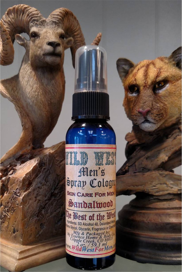 Wild West Men's Spray Cologne