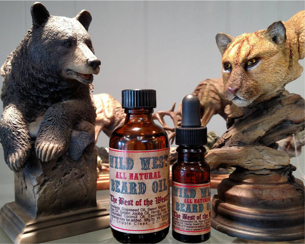 Wild West Beard Oil - All Natural