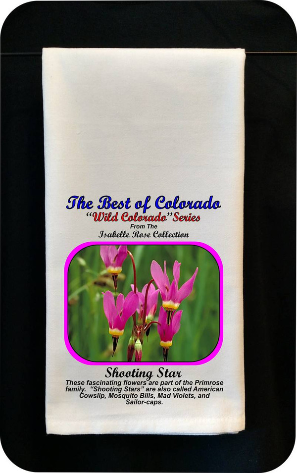 Colorado Flower Tea Towel - Shooting Star