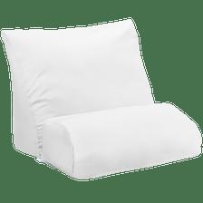 White Microfiber Cover