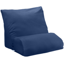 Navy blue flip pillow cover