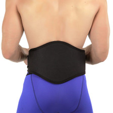 Back-A-Line belts easy to wear and support the back