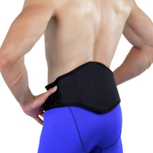 Works great as a back support during work, gym or throughout the day