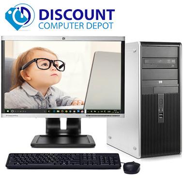fast hp windows 10 pro desktop computer pc dc 8gb 1tb wifi