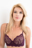 ALL LACE CLASSIC UNDERWIRE BRA MERLOT