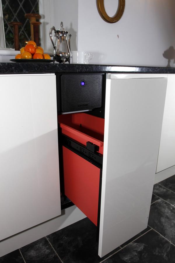 K012 Krushr compactor open
