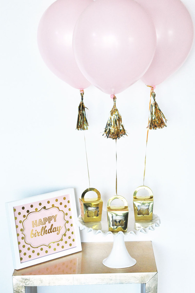 Gold Mini Metallic Tassel Garland - Gold Mini Tassel - Silver Mini Tassel - Rose Gold Tassel (10ct)