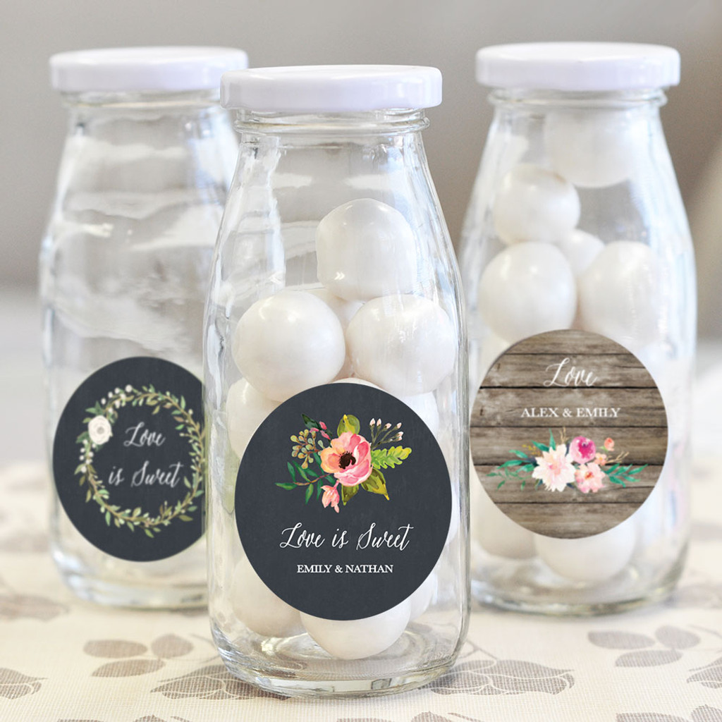 Magnificent Bottles For Wedding Favors Adornment - The Wedding Ideas ...