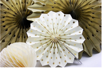 Gold Party Kit, Party Decor, Gold Wedding, Gold Christmas Party Decoration Kit, Gold Snowflake