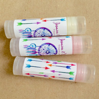 Dreamcatcher Chapstick Favors - Dream Big Little One - Party Favor - Baby Shower Chapstick Favor 24ct