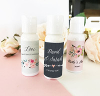 Personalized Floral Garden Lotion 48ct