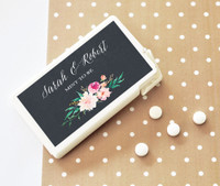 Mint to Be Favors - Mint Floral Garden Favors