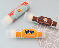 Personalized Lip Balm Favors - Kid's Birthday Party Favors 24ct