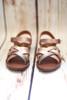 Judith Multicolored Metallic Strappy Sandals