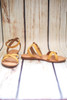Dillon Yellow Strappy Sandals