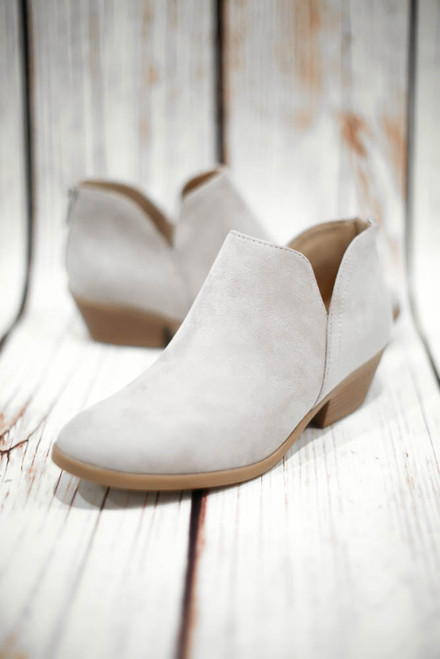 Judy Grey Short Ankle Bootie