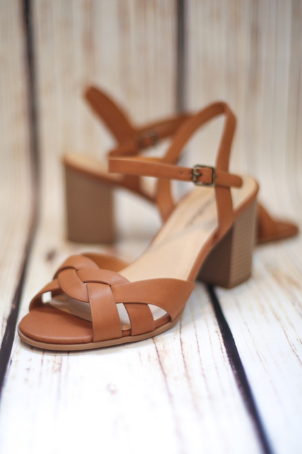 Tanya Tan Braided Dress Sandal