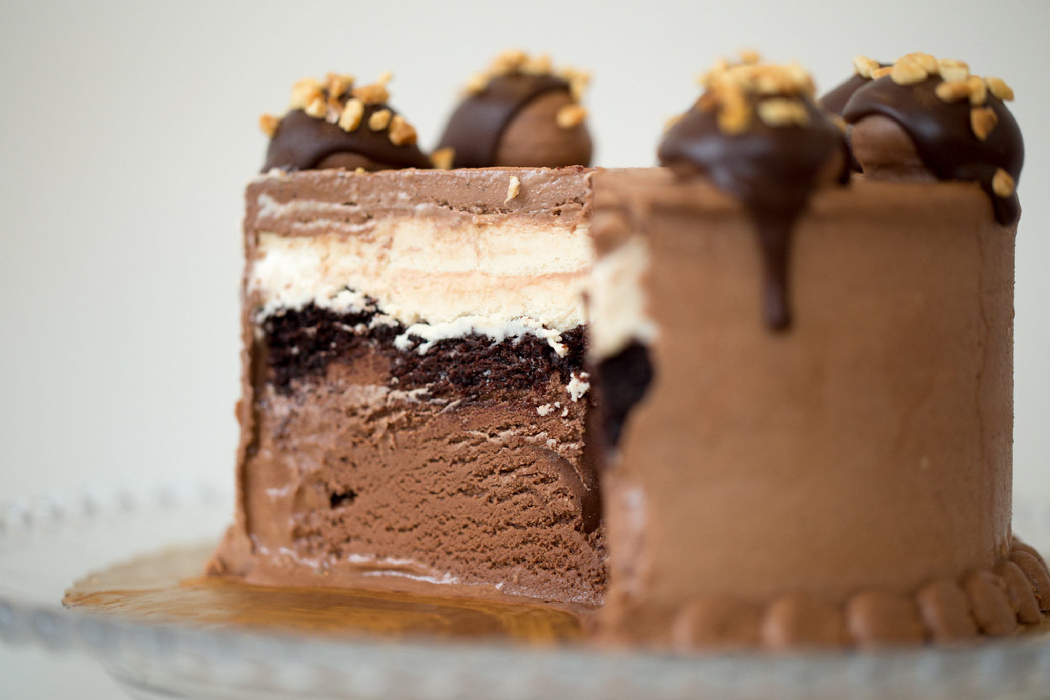 Custom Ice Cream Cake FoMu Ice Cream