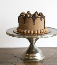 Peanut Butter Mud Pie Ice Cream Cake