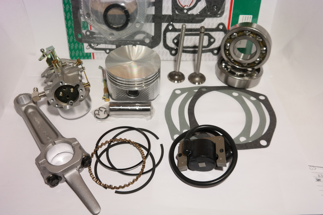 Ultimate Engine Restoration Rebuild Kit for Kohler Magnum M16 16HP ...