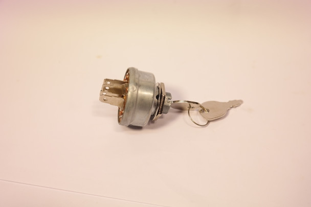 Ignition Key Switch for Garden Tractors with Battery Ignition