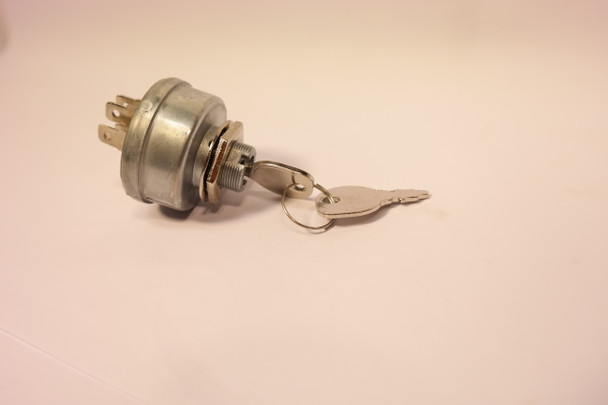 Ignition Key Switch for Garden Tractors with Magneto Ignition