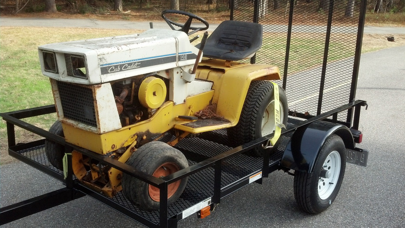 ​Guide to Buying and Restoring Vintage Garden Tractors Part 1