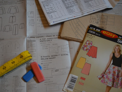 Pattern Reading at The Sewing Cafe - Sewing workshop
