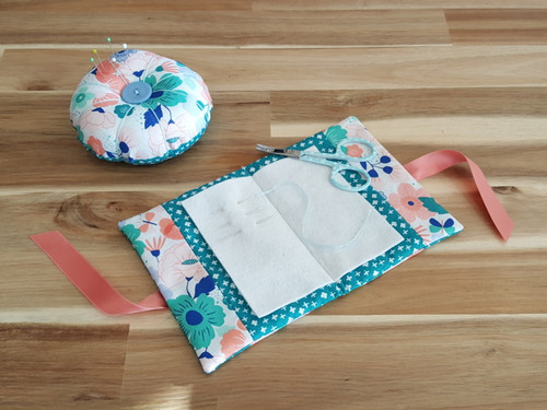 Pin Cushion and Needle Case at The Sewing Cafe - beginners sewing workshop